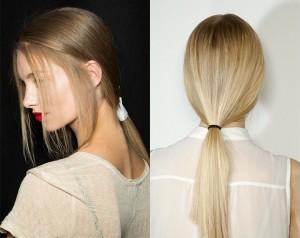 low-ponytail