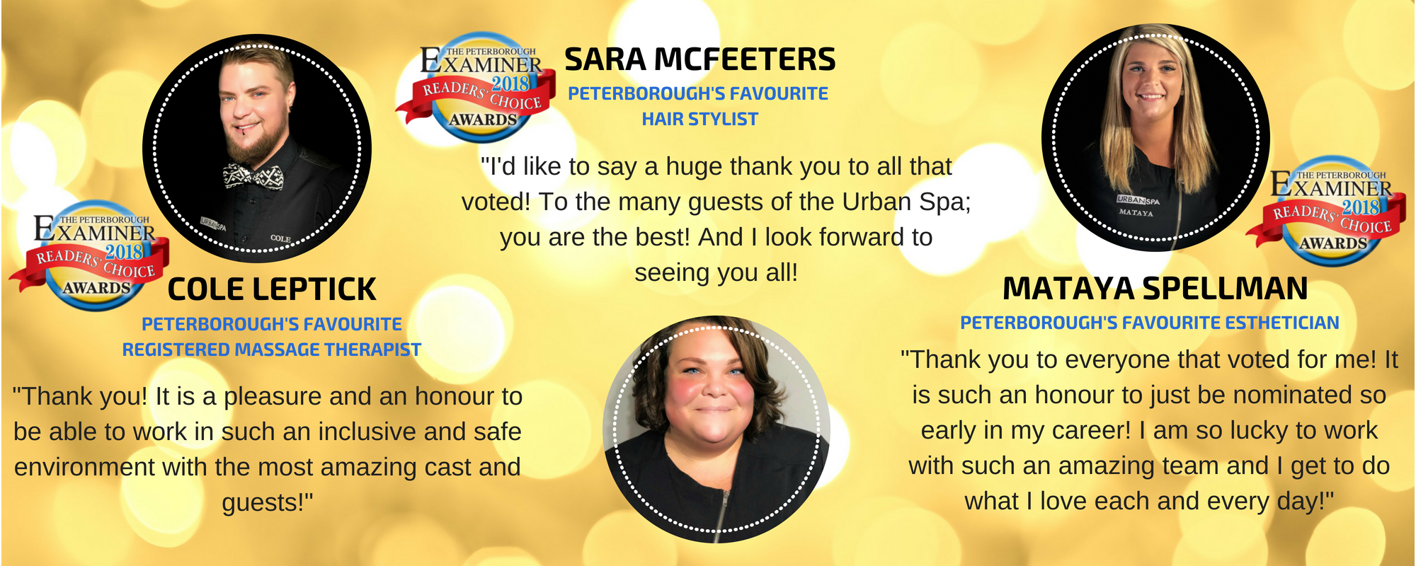 Readers Choice Awards Winners Urban Spa 2018