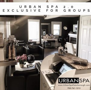 Groups the urban spa peterborough boutique spa massage for Above and beyond beauty salon